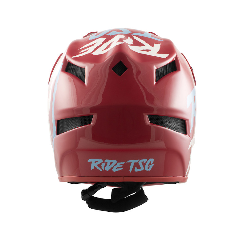 TSG Squad Junior Helmet - Ripped Red