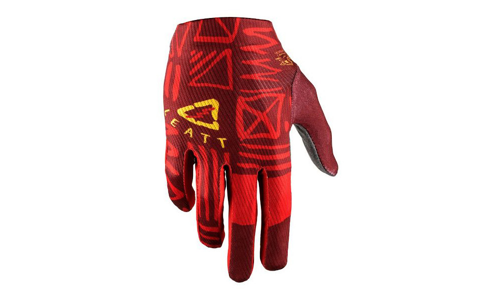 Leatt DBX 1.0 GripR Gloves - Ruby