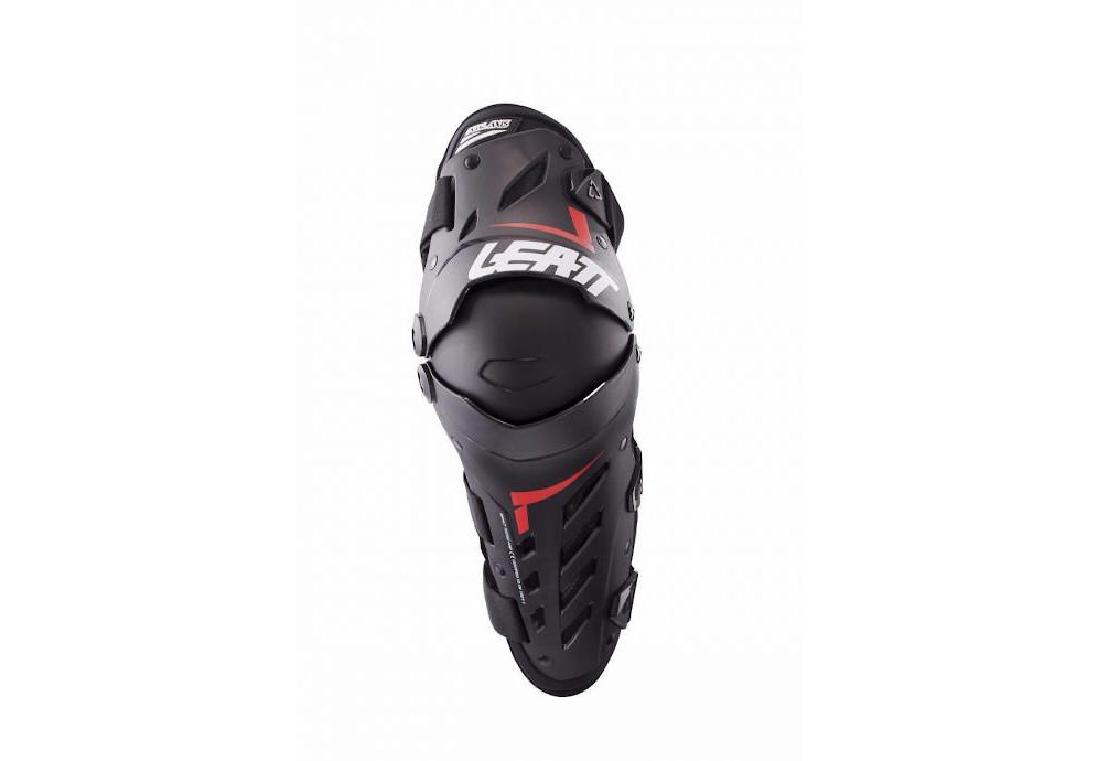 Leatt Dual Axis Knee/Shin Pads - Black/Red