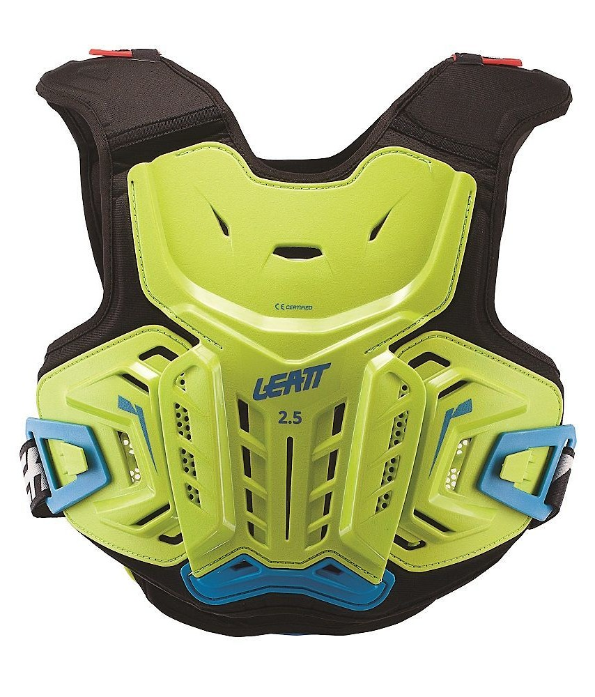 Leatt 2.5 Junior Chest Protector - Lime/Blue