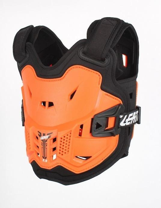 Leatt 2.5 Mini Kids Chest Protector - Orange/Black