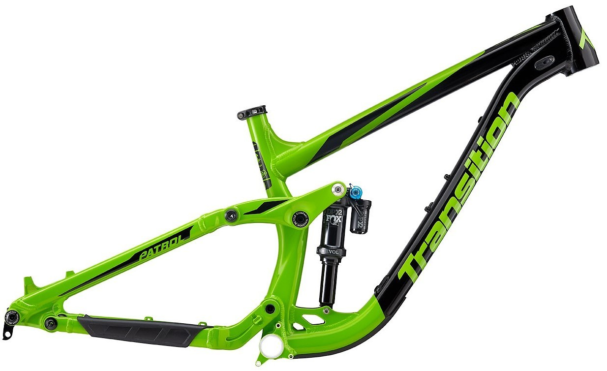 Transition 2018 Patrol Frame Transition_Patrol_Green_Frame