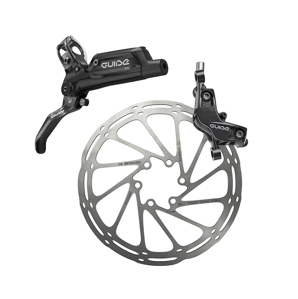 SRAM Guide RS G2 Complete Lever Black