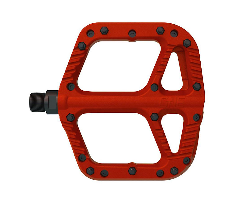 OneUp Components Composite Flat Pedal (red)