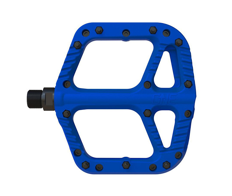 OneUp Components Composite Flat Pedal (blue)