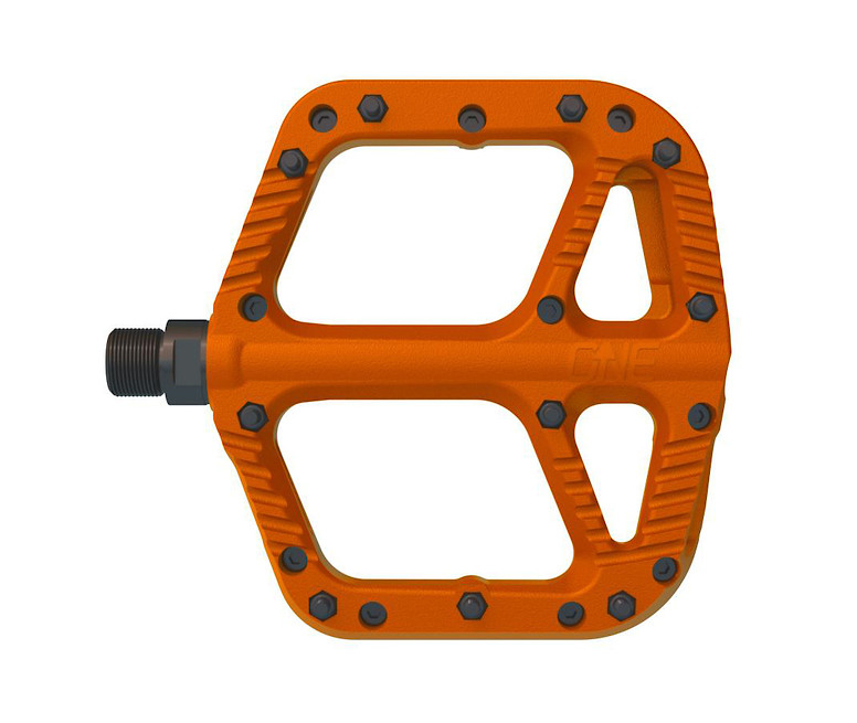 OneUp Components Composite Flat Pedal (orange)
