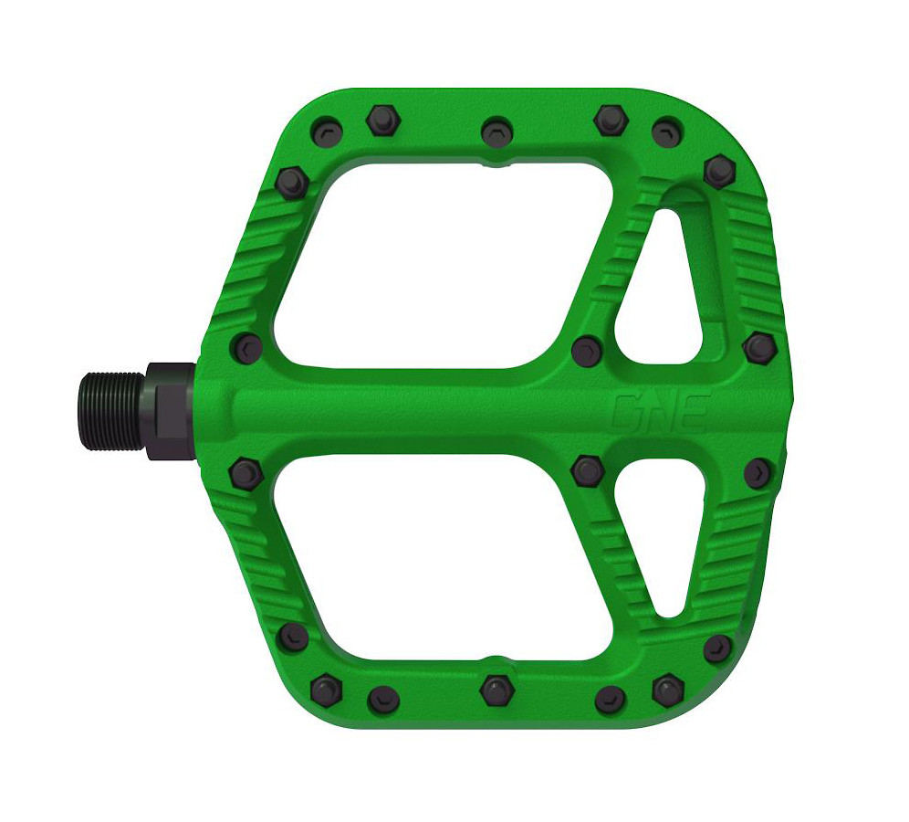 OneUp Components Composite Flat Pedal (green)