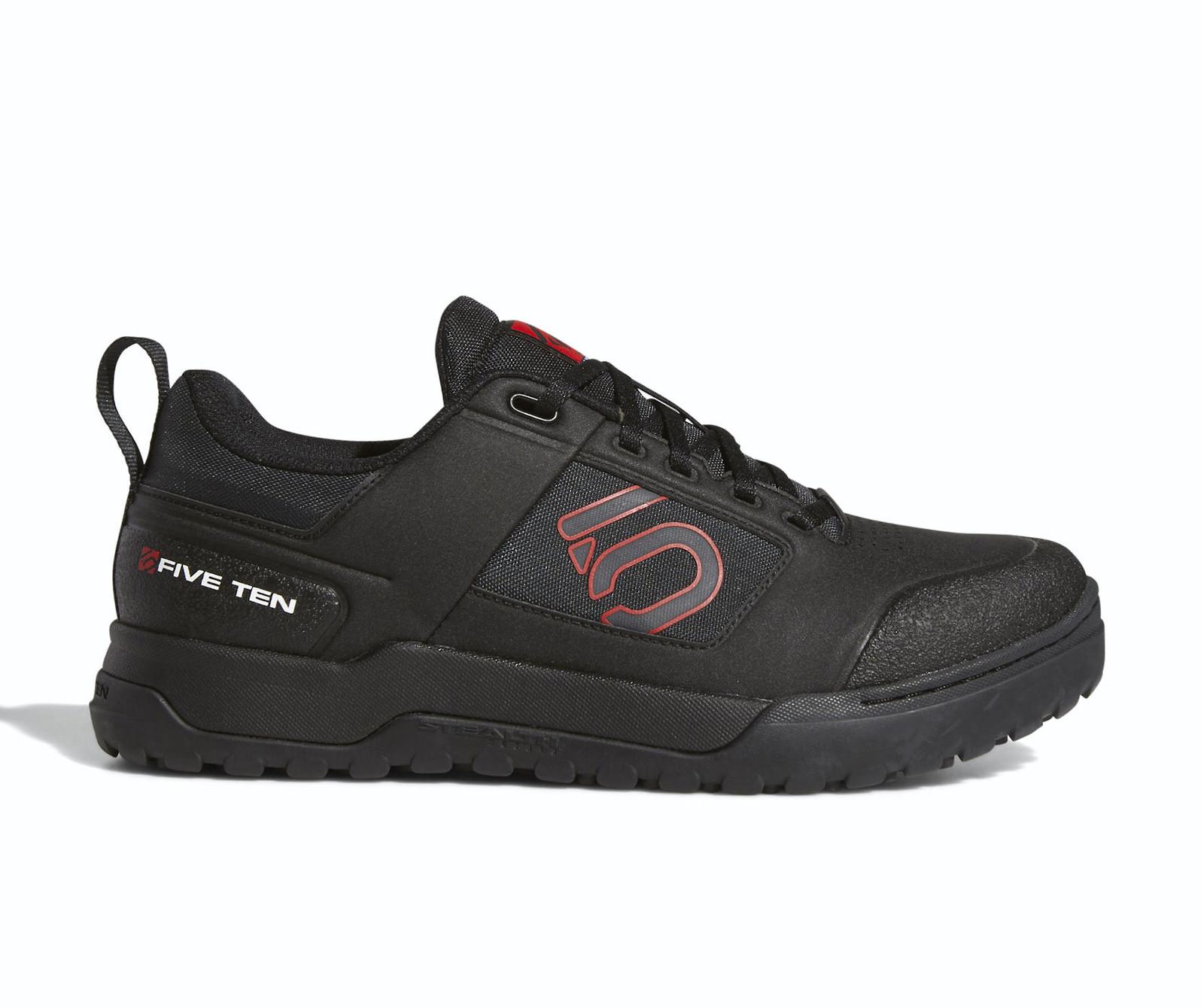 Five Ten Impact Pro Flat Pedal Shoe (Black/Carbon/Red)