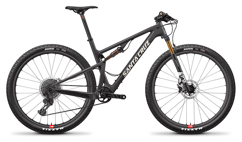Santa Cruz Blur CC XX1 Reserve 29 - Matte Carbon