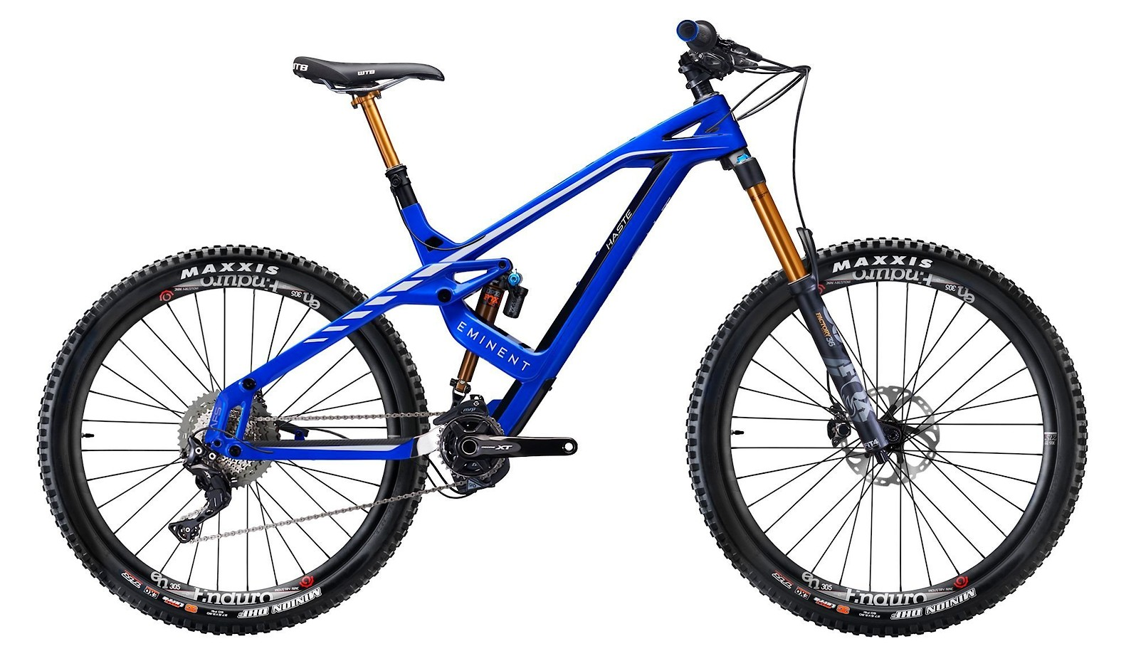 Eminent Cycles Haste Pro - Team Blue White Gloss