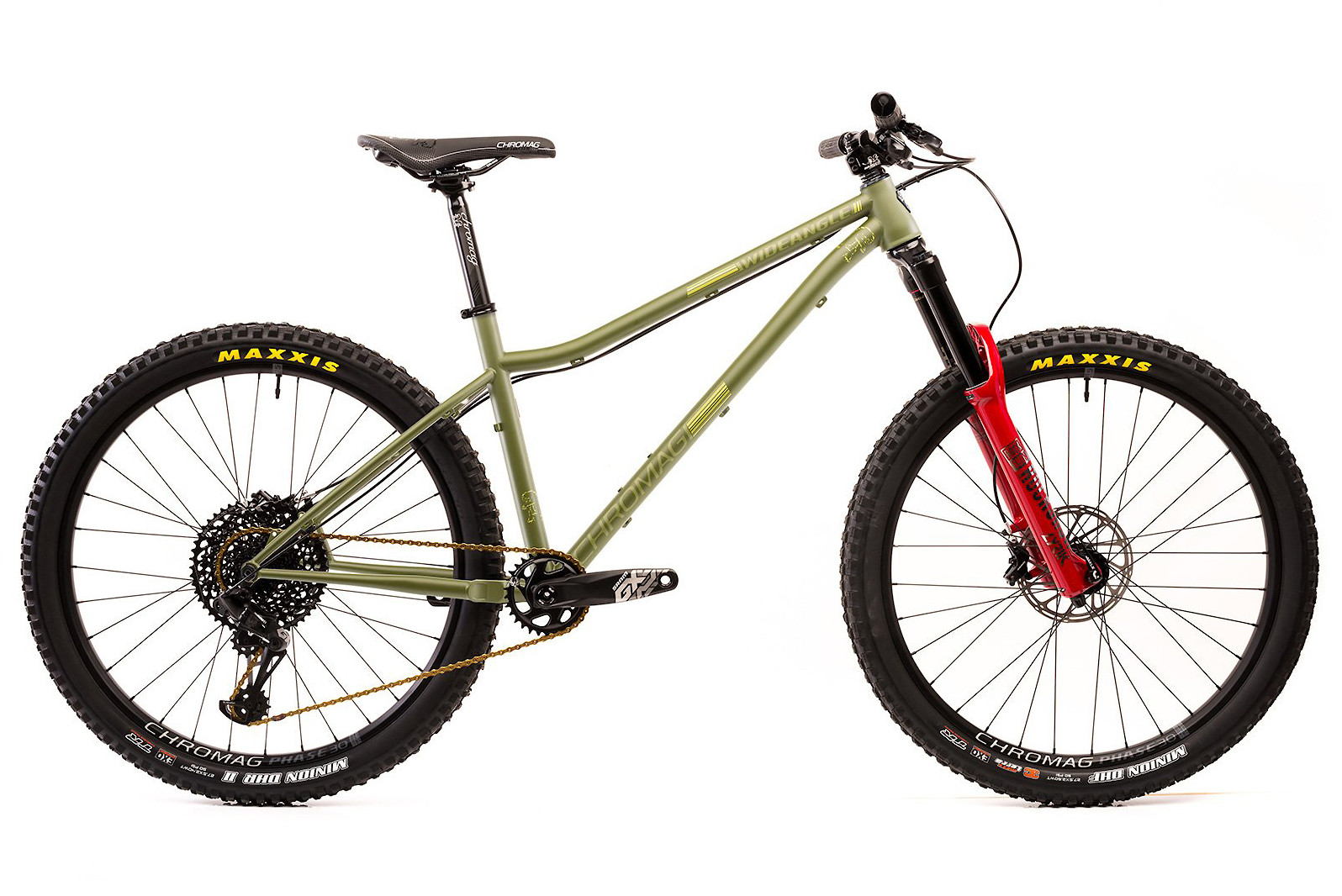 2019 Chromag Wideangle - 2019 Eagle GX build pictured