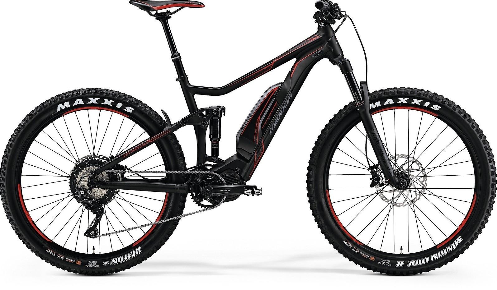 Merida EOneTwenty 800 Black Red