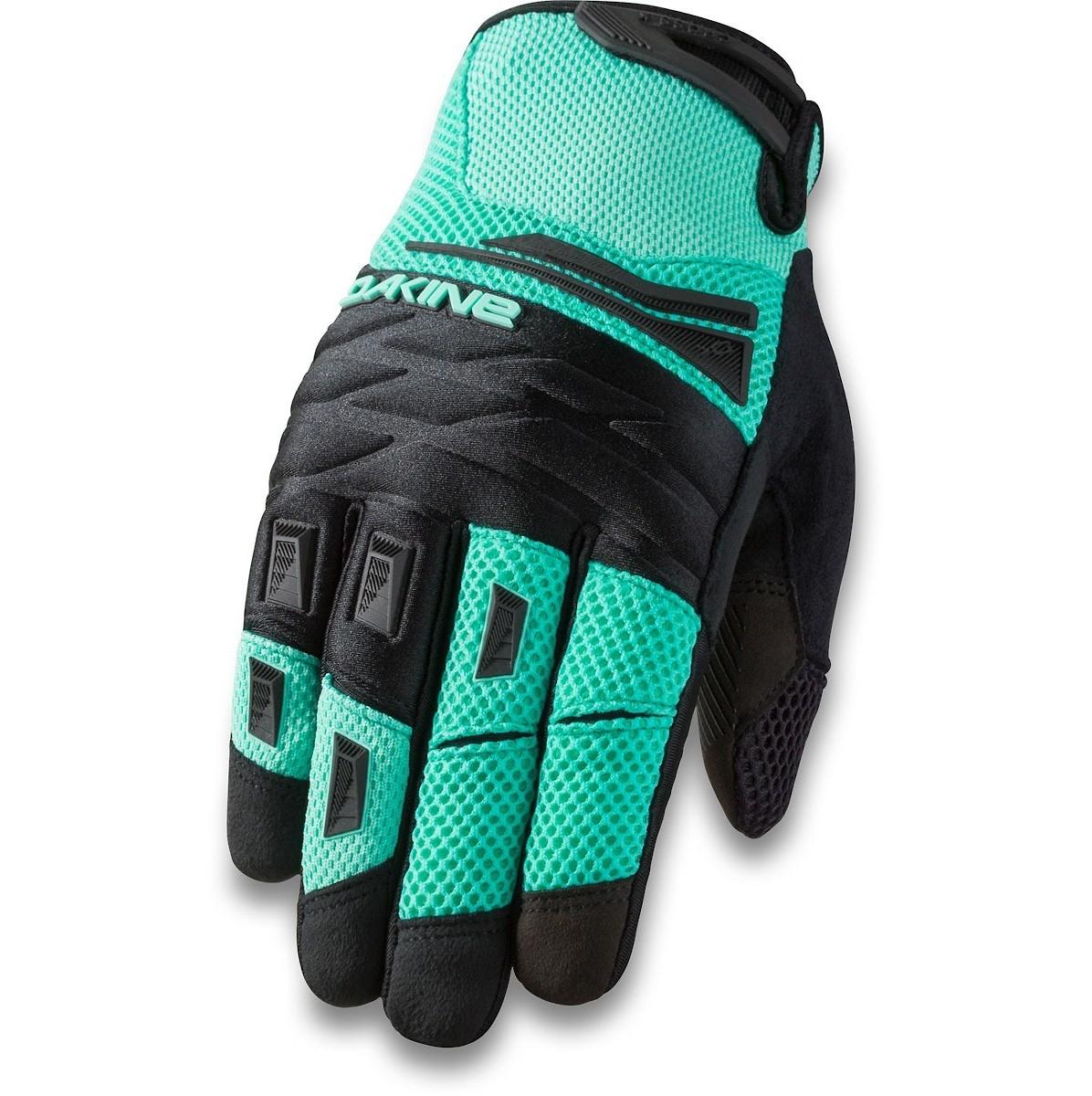 Dakine CROSS-X Womens Full Finger Mountain Bike Gloves Bright Coral NEW Sample