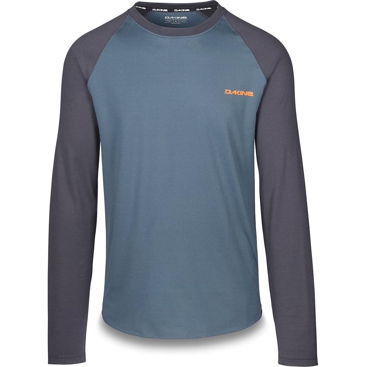 Dakine Vélo Dropout à manches courtes en jersey bleu slate
