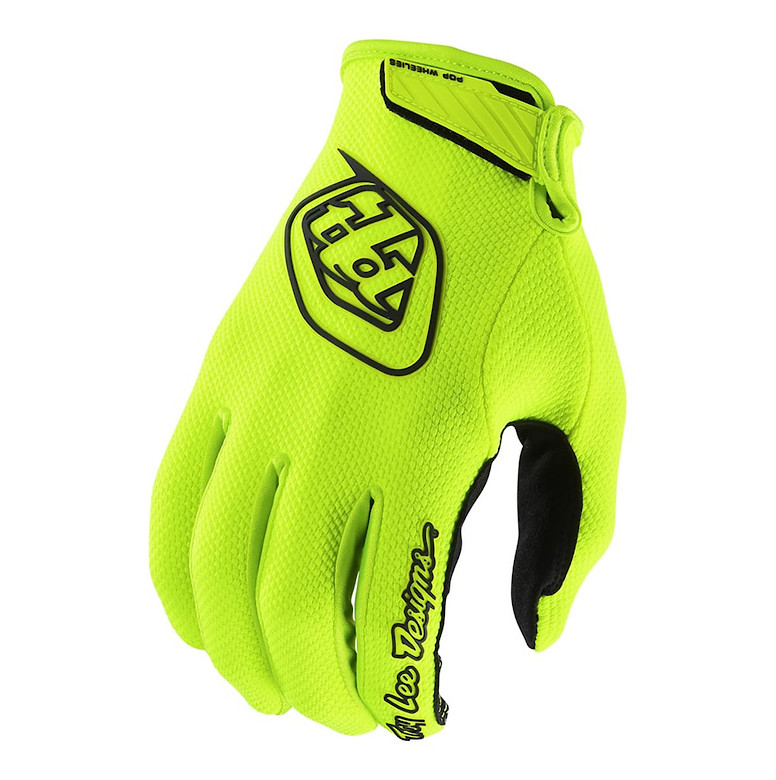 2018 TLD Air Glove Solid Flo Yellow