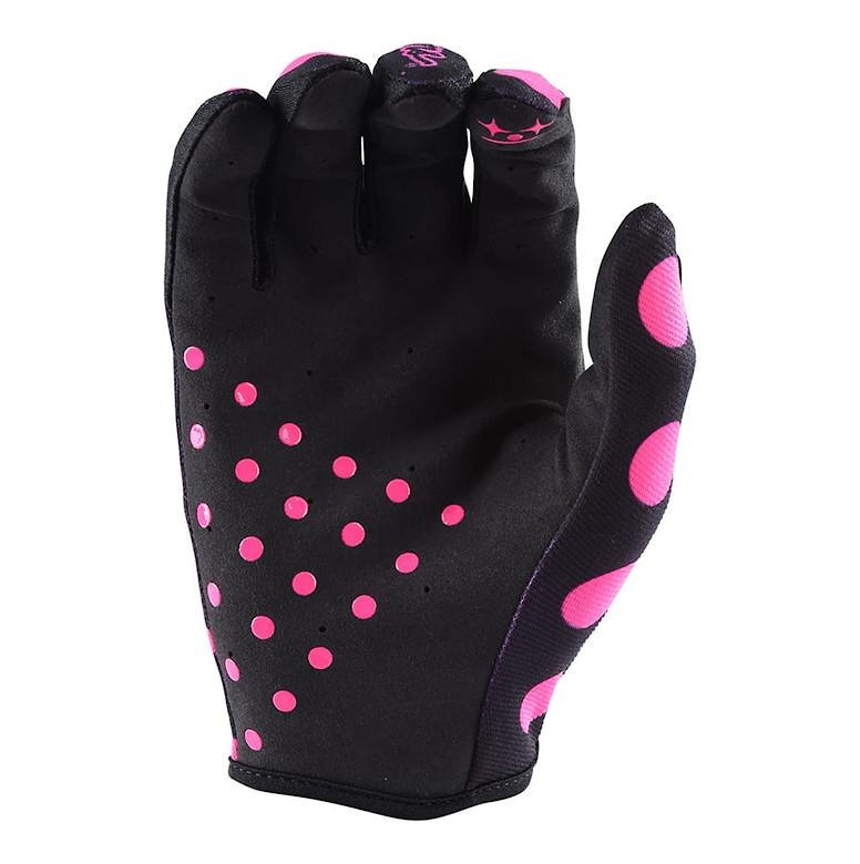 2018 TLD Air Glove Polka Dot Flo Pink Palm