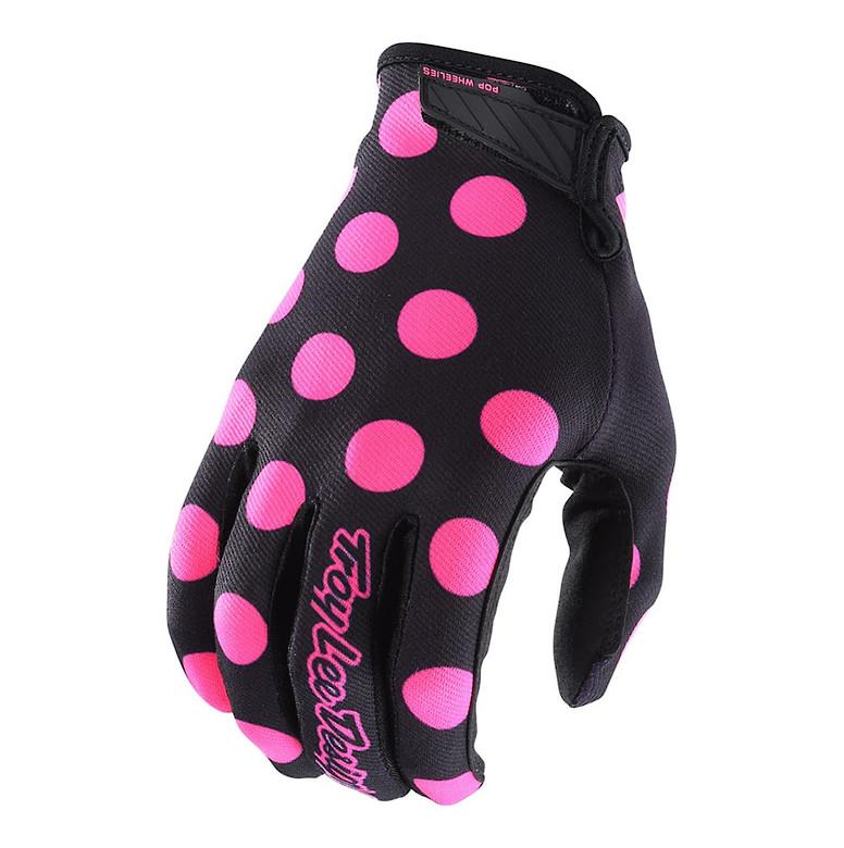 2018 TLD Air Glove Polka Dot Flo Pink