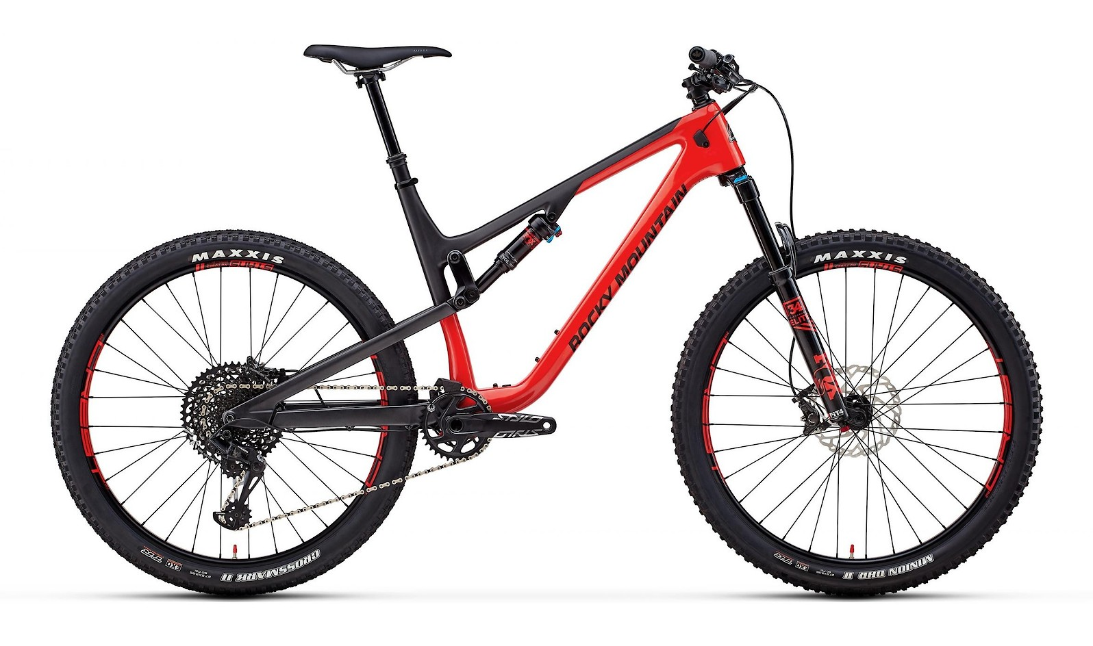 Rocky Mountain Thunderbolt Carbon 70 Red Black