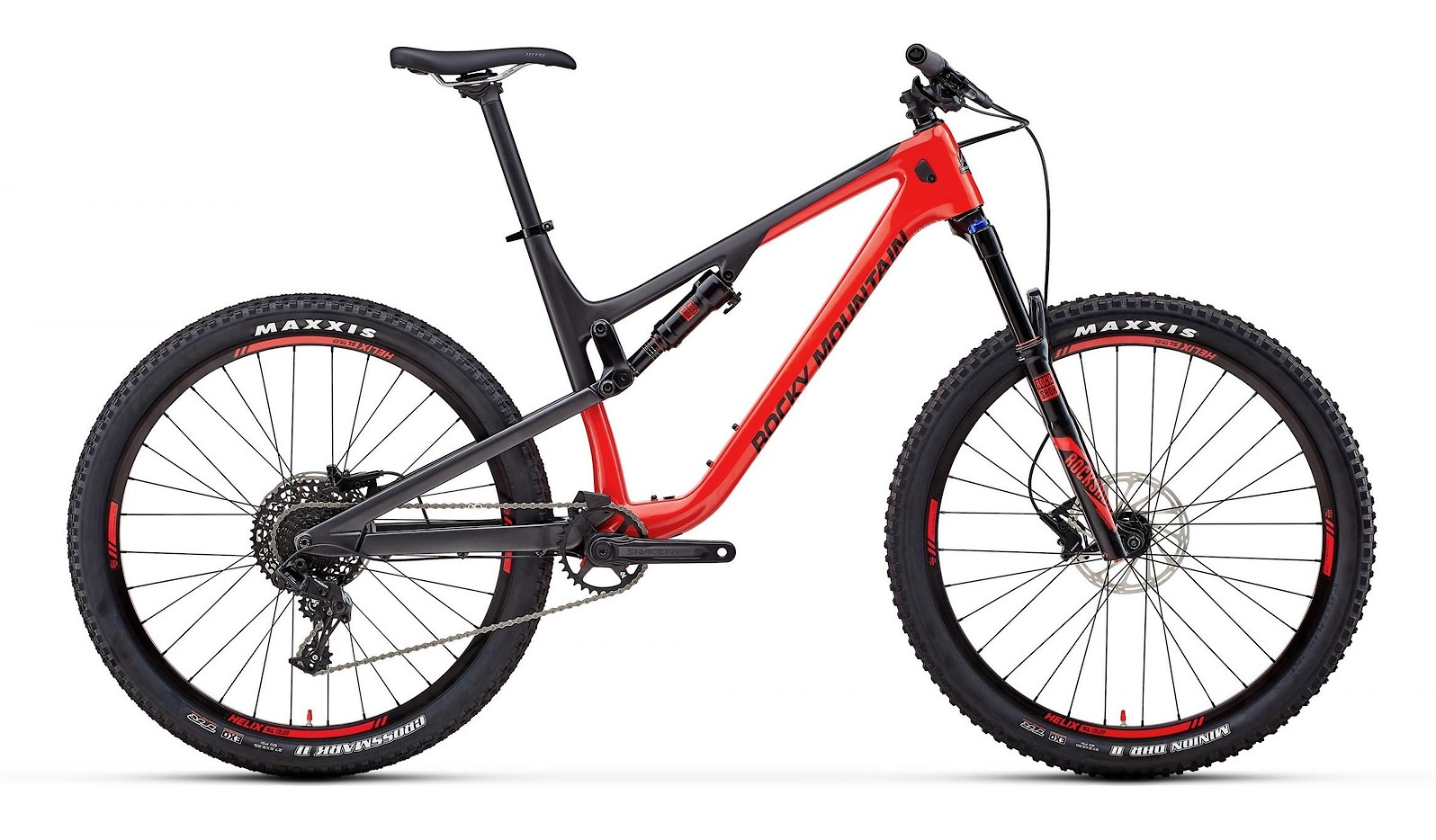 Rocky Mountain Thunderbolt Carbon 30 Red Black