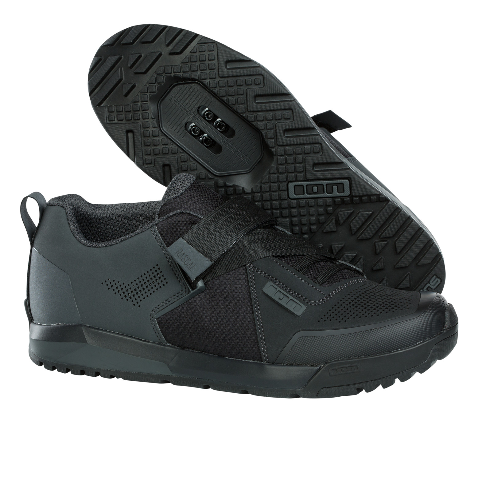 ION Rascal Clipless Shoes (black)