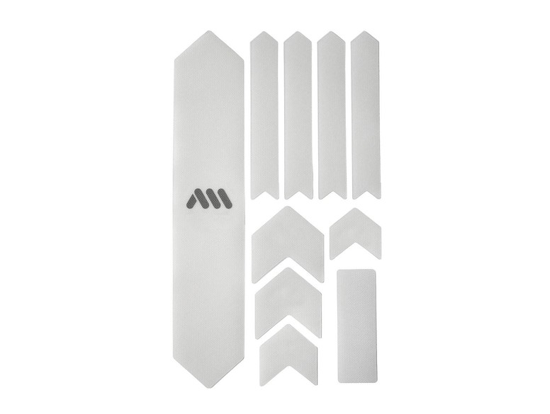 All Mountain Style AMS High Impact Frame Guard Extra Clear//Maori Front Guard Red//Black