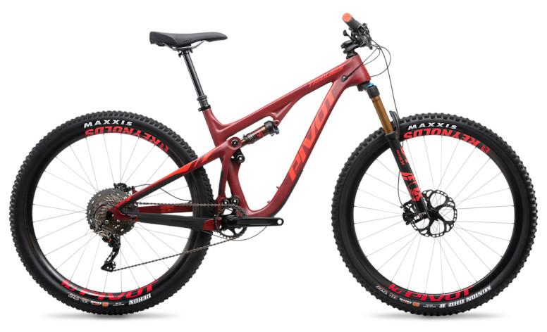 "2019 Pivot Trail 429 Pro XT/XTR 1X 29"" with Reynolds wheels upgrade (crimson)"