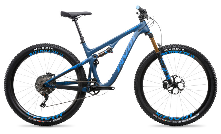 "2019 Pivot Trail 429 Pro XT/XTR 1X 29"" with Reynolds wheels upgrade (steel blue)"