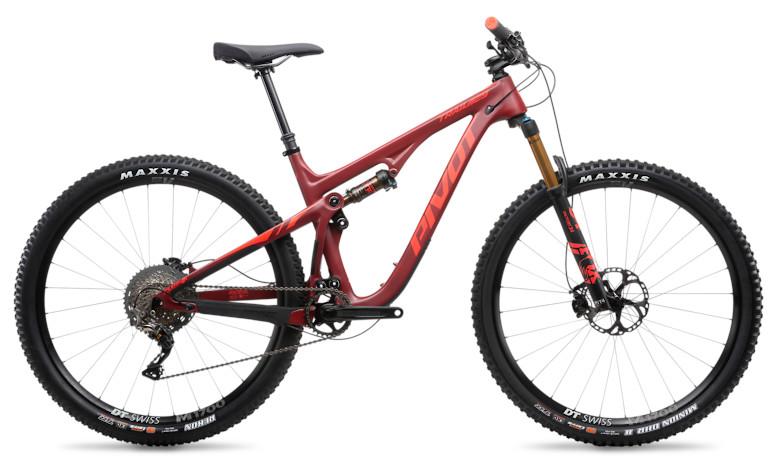 "2019 Pivot Trail 429 Pro XT/XTR 1X 29"" with DT Swiss wheels (crimson)"