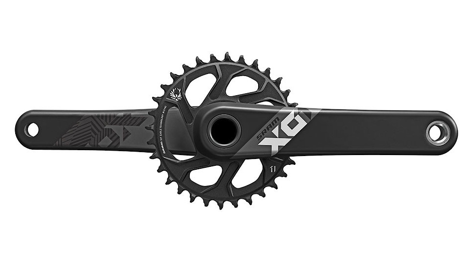 SRAM X01 Eagle Crankset - Black