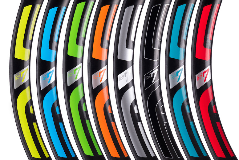 ENVE M735 Rim Decal Colors