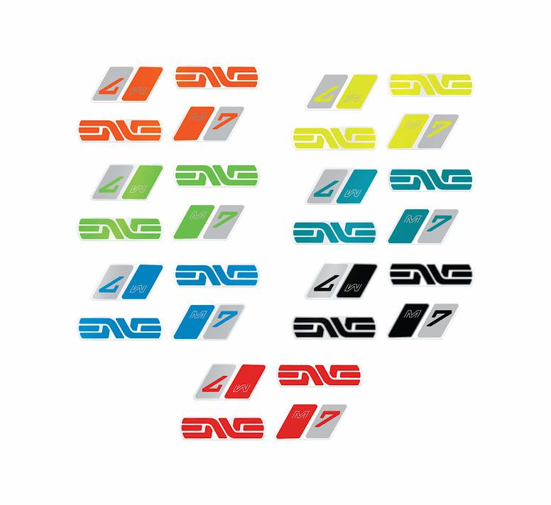 ENVE M7 Handlebar Decal Colors