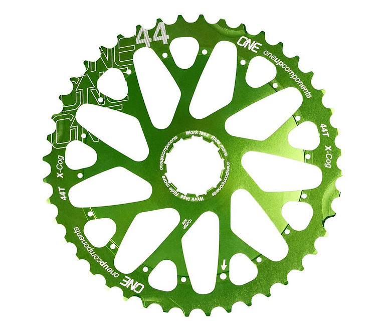 OneUp Components X-Cog 44T Sprocket (green)