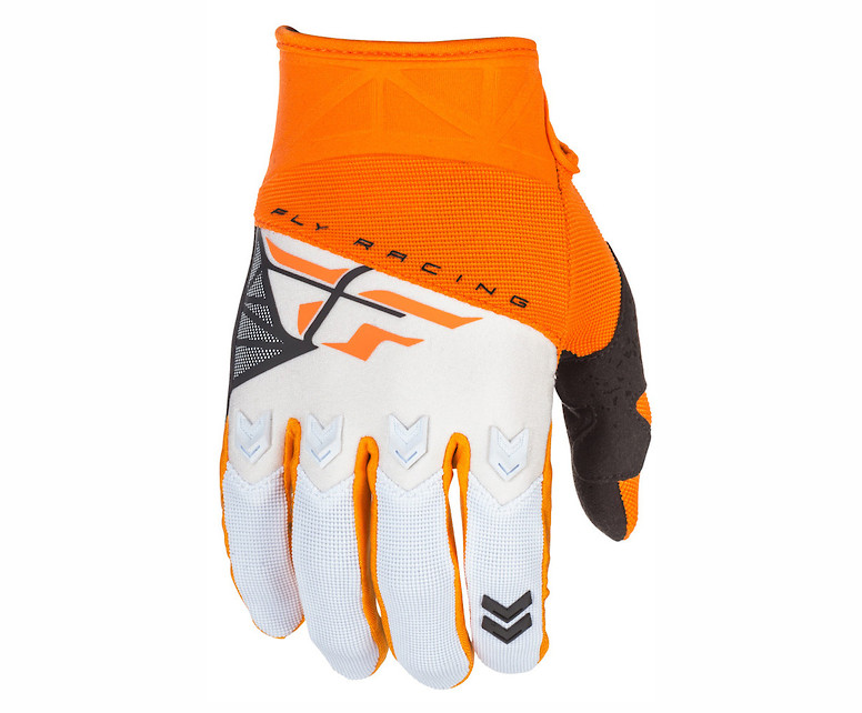 Fly Racing F-16 Gloves (Orange/White)