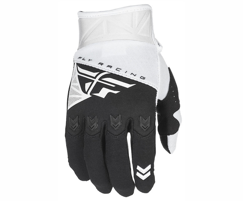 Fly Racing F-16 Gloves (White/Black)