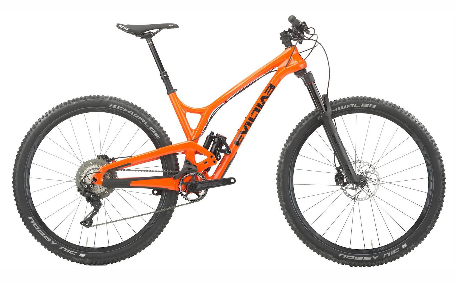 Evil Following MB XT Jenson Spec-A Bike (Smashing Pumpkin)