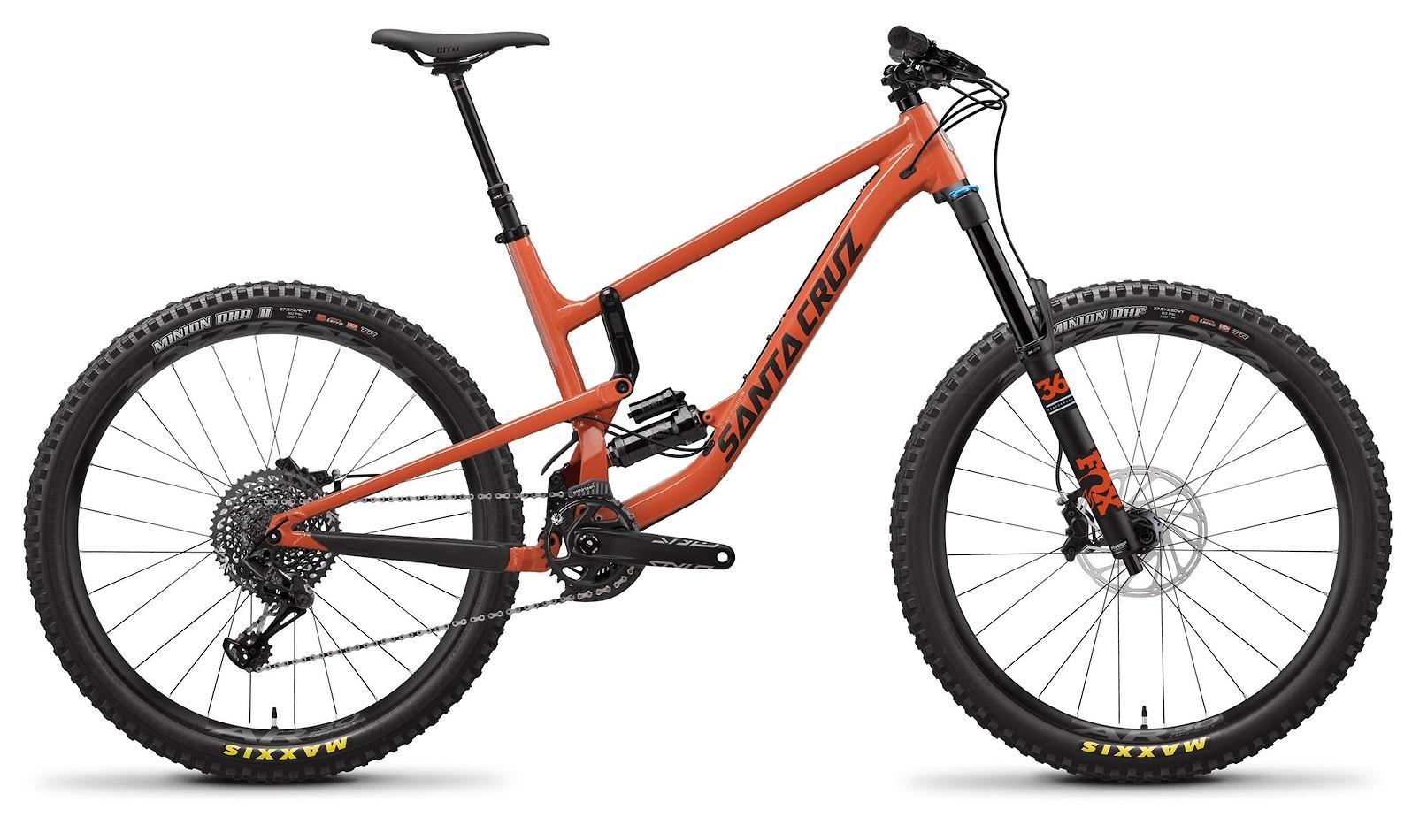 Nomad Aluminum S Orange and Carbon