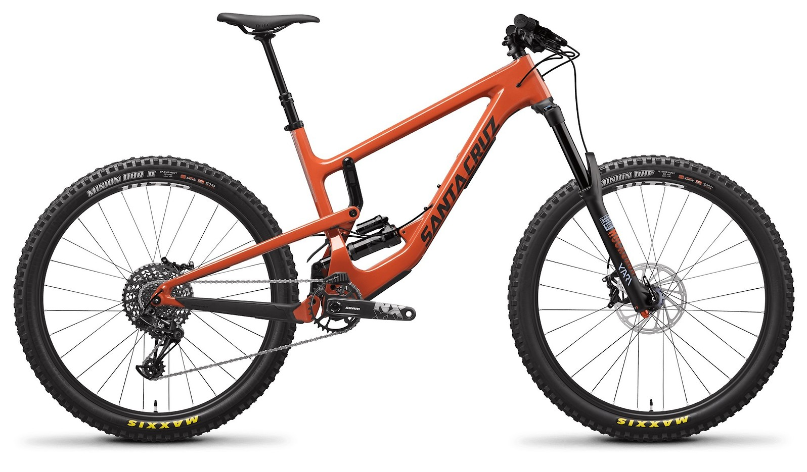 Nomad Carbon C R Orange and Carbon