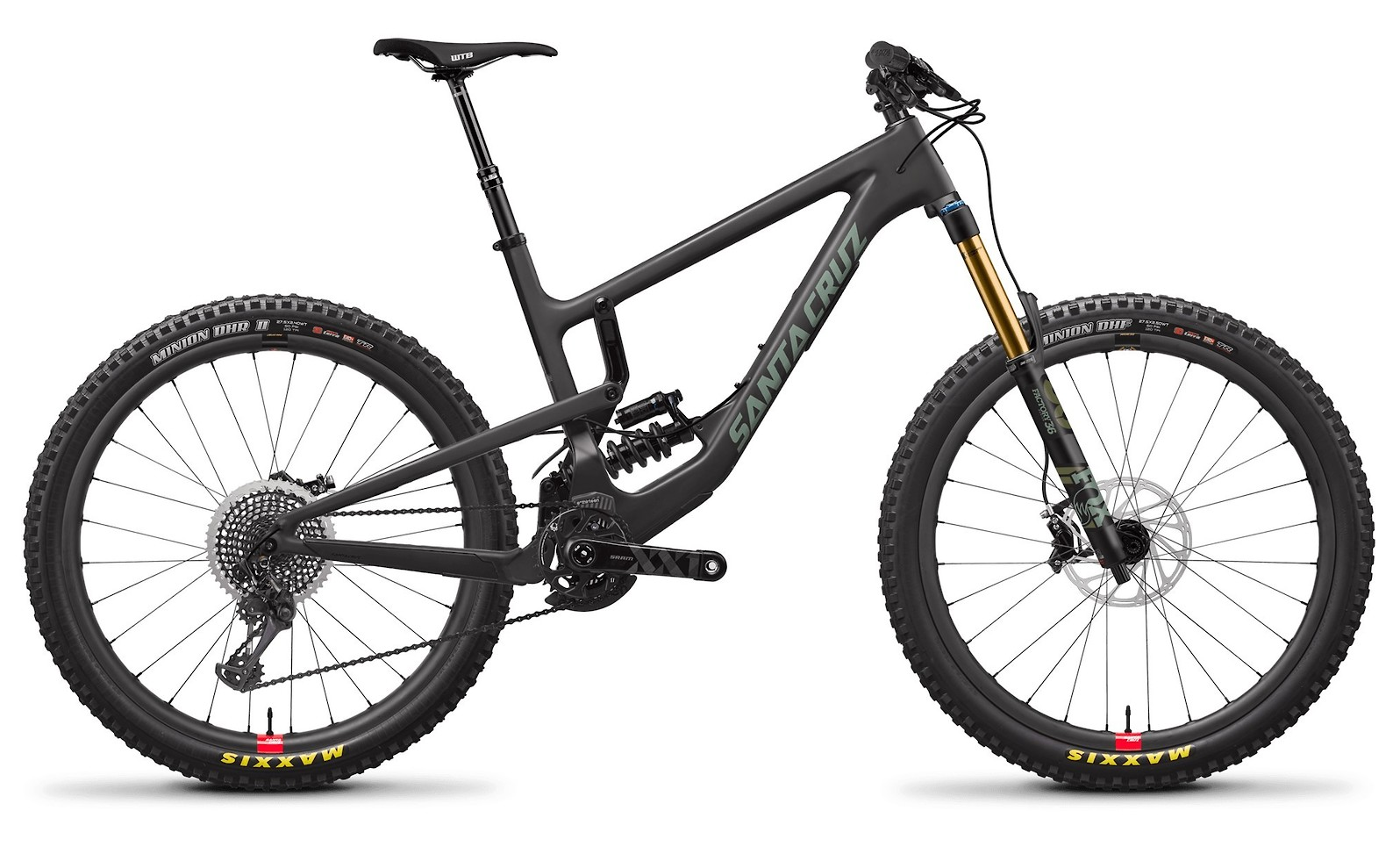 Nomad Carbon CC XX1 Reserve Carbon Olive with RockShox SuperDeluxe RCT Coil