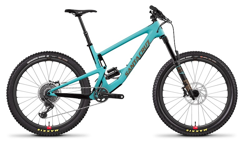 Bronson Carbon CC X01 Industry Blue and Gold with Reserve Wheels