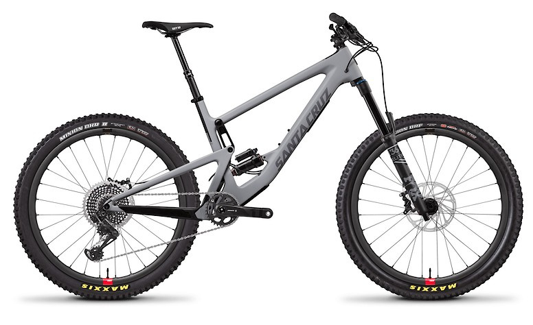 Bronson Carbon CC X01 Primer Grey and Silver with Reserve Wheels