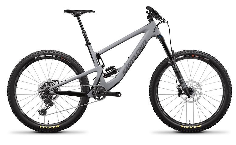 Bronson Carbon CC X01+  Primer Grey and Silver
