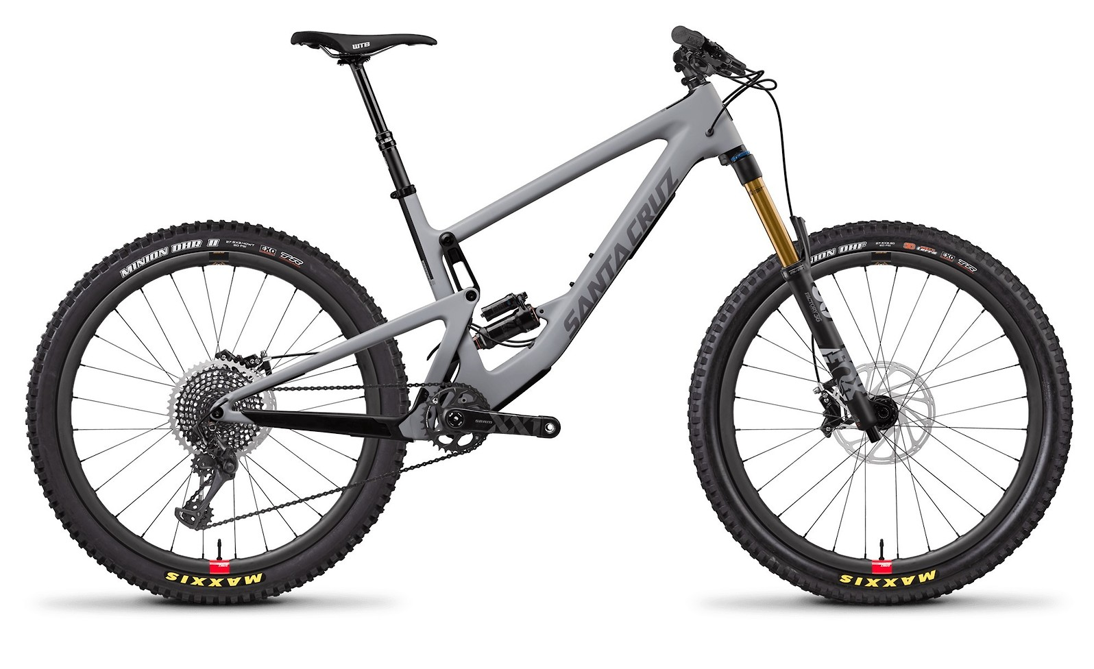 Bronson Carbon CC XX1 Primer Grey and Silver