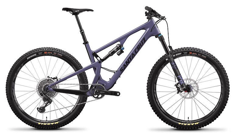5010 Carbon CC X01+ Purple and Carbon With Reserve Wheels