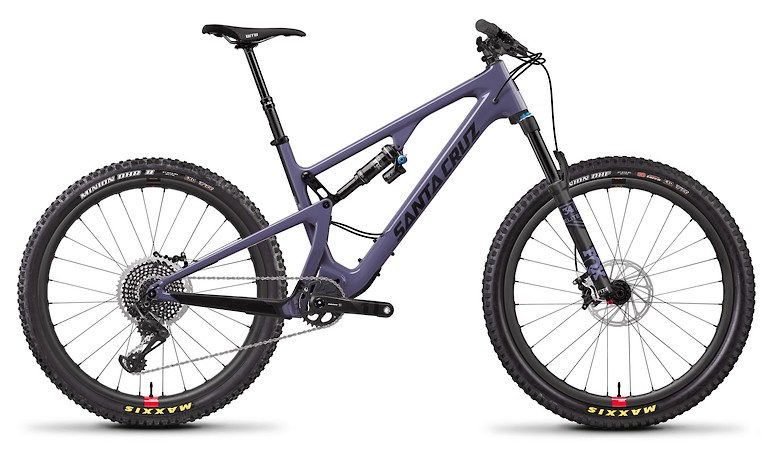 5010 Carbon CC X01 Purple and Carbon With Reserve Wheels