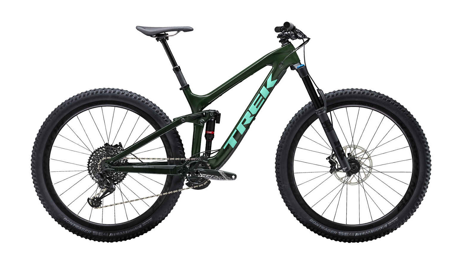 2019 Trek Slash 9.8 Green