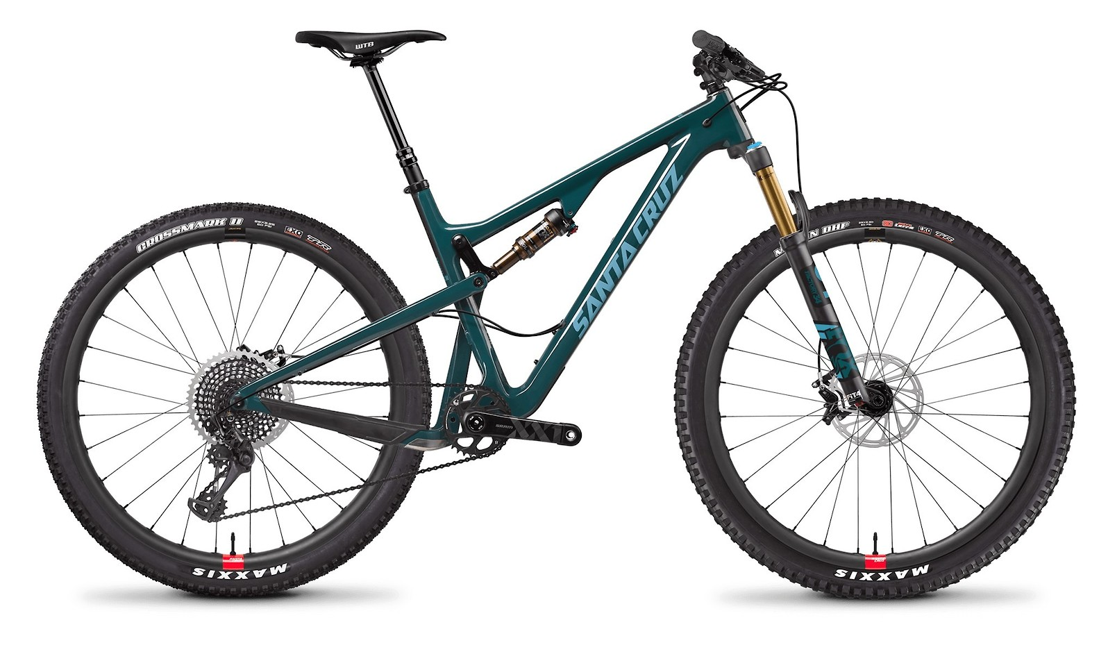 Tallboy Carbon CC XX1 Reserve Forest Green and Baby Blue
