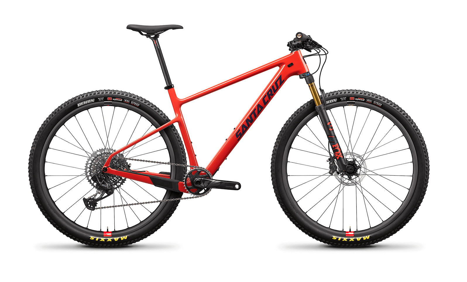 Santa Cruz Highball Carbon CC Frame (2021; Ember and Storm Grey)