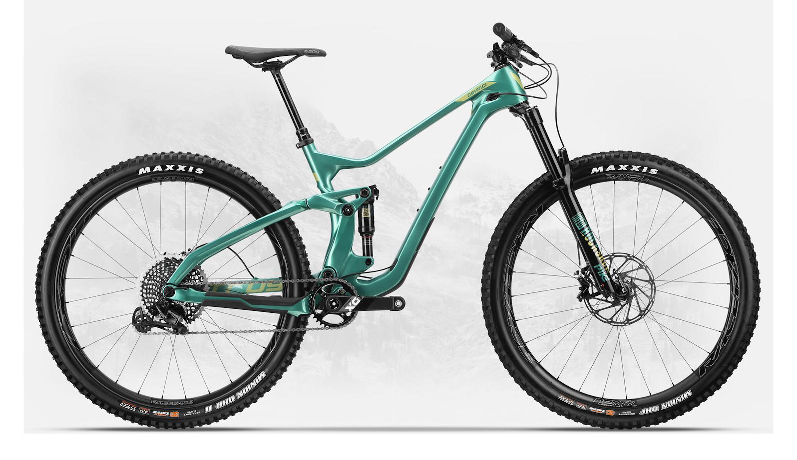 2019 Devinci Troy Carbon 29 NX Eagle Gloss Zenith