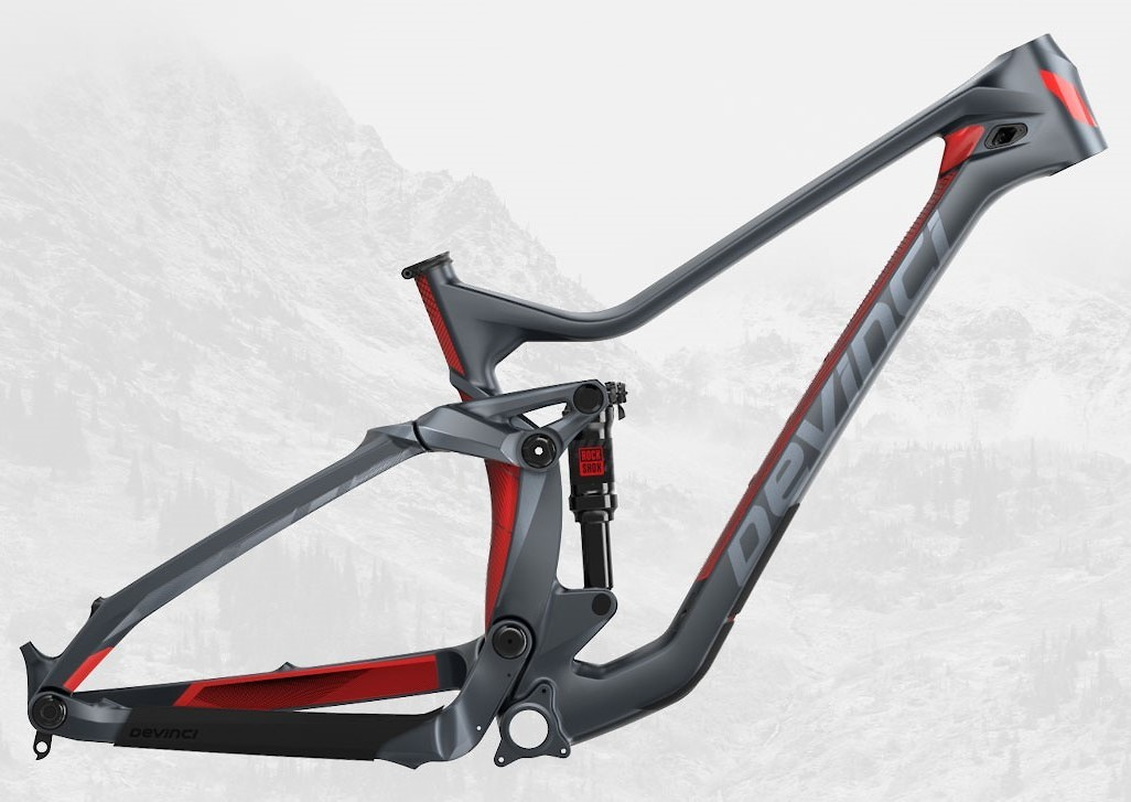 Troy Carbon 27 Matte Tectonic Red