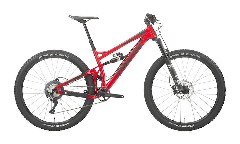 2017 Banshee Prime SLX Jenson red